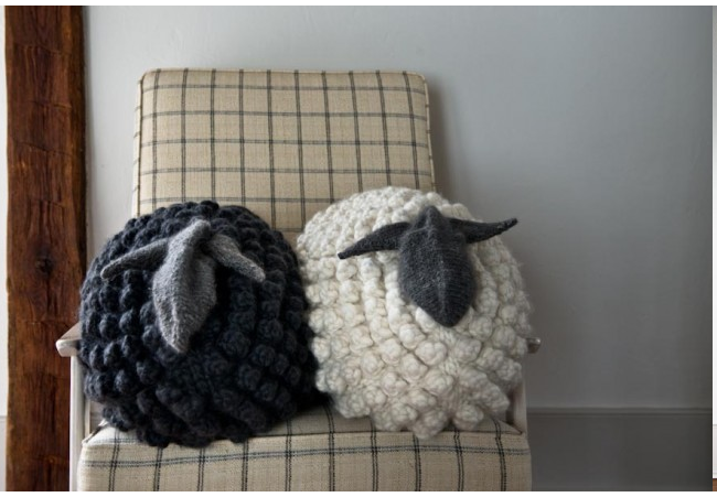 sheep pillow - Purl Soho
