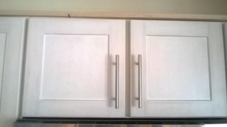 Upper cabinet shelves