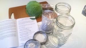 sauerkraut prep