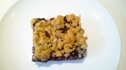 Blueberry crumble 2